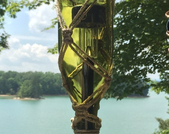 Wine Bottle Solar Lantern