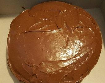 6 inch Boston Cream Pie Cake