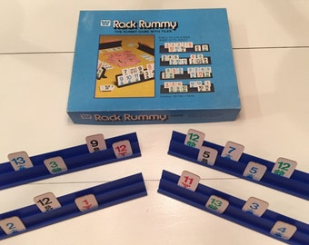 Complete 1979 Rack Rummy - The Rummy Game with Tiles. By Whitman  No. 4819
