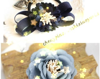 Flower bud accessries-pistil,flower tube,silk ribbon flower accessries,imitated platycephaluc,diy hair accessories
