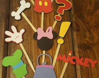 Mickey And Friends Cupcake Toppers!