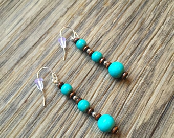 Turquiose Dangle Earrings