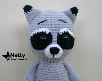 Mika the Raccon, Crochet amigurumi toy