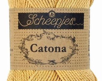 Ships catona 25 yellow/brown