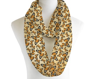 Butterfly Love and Beauty Infinity Scarf
