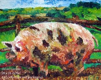 Happy Farm Yard Pig