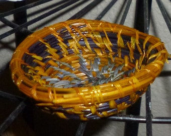 Ring Dish Pine Needle Handmade