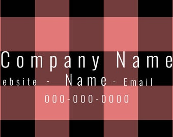 Flannel Business Card
