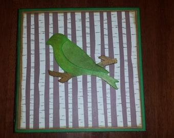 Woodland Baby Boy First Year Album