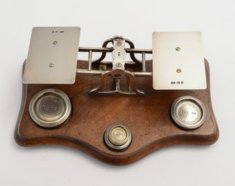 Set of Edwardian Sterling Silver Postal Scales (ID 47203)