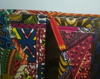 Batik and Kente Cloth Wallets