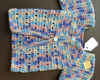 Hand made lovely baby top