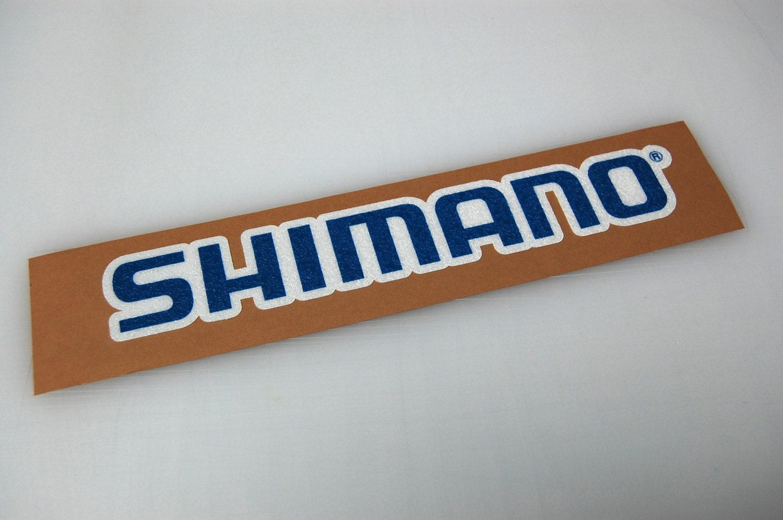 Shimano Bass Boat Carpet Graphic Decal Logo