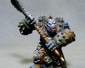Warmachine Horde Trollbloods Axer pro painted