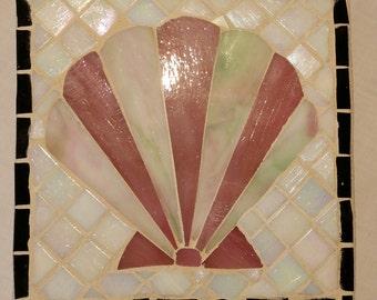 Mosaic Shell wall art