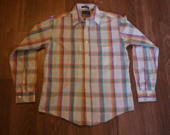 Men's Vintage Lightweight Button-Down Shirt