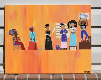 The Evolution of the Revolutionary Black Woman Print