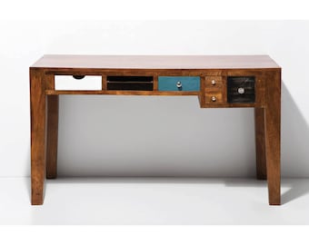 Upcycled Desk With Drawers