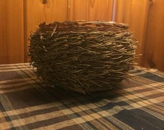 Unusual Pine Needle Basket
