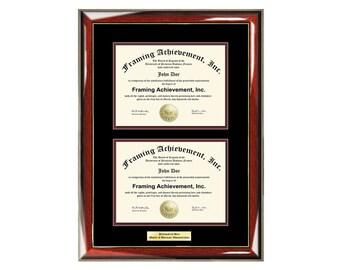 Gold Diploma Frame Etsy