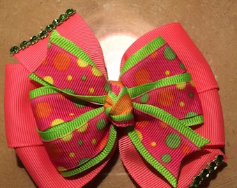 Approx 3inch Hair Bow/ price is per bow