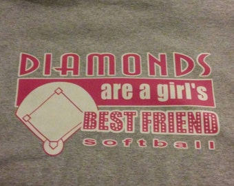 Diamonds are a girls best friend.