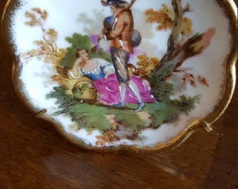 LIMOGES Miniature plate made in France