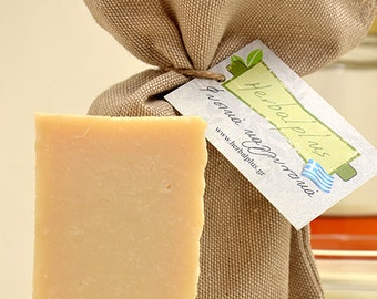 Natural soap with olive oil, donkey milk and honey