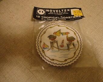 Vintage Tropical Coasters
