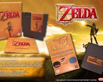 Zelda: Journey of a Day CIB NES NINTENDO