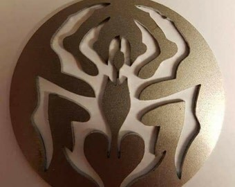 Custom Laser-cut pendants, sigil and designs