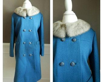 SALE Vintage Fur Coat 40s Glamour