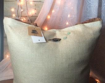 Sandy, Handmade Reversible Tote bag