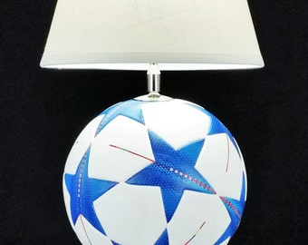 Soccer / Volleyball RecLamp with Lampshade and Ball