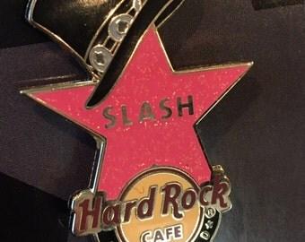 Rare - Slash - 2012 Hollywood Walk of Fame pin - Hard Rock Cafe - Guns N Roses - GNR - only 300 made