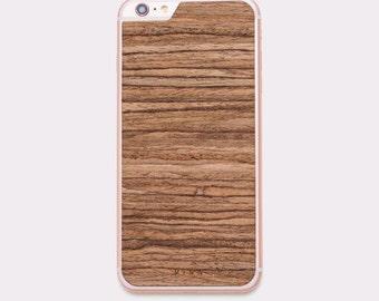 TUX Wooden Skin for iPhones - Walnut