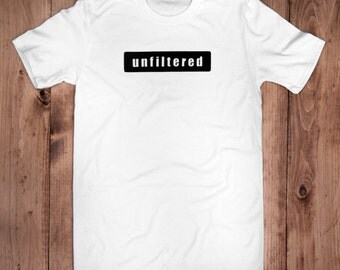 Unfiltered Tee-100% Organic Cotton