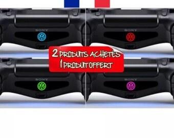 Stickers light bar ps4 controller controller