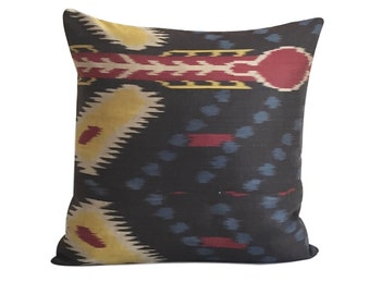 Tribal Ikat Cushion
