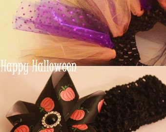 Halloween Tutu and Headband Set