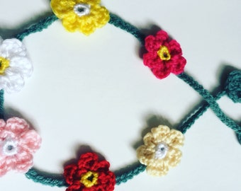 Floral headband, perfect for summer/festivals