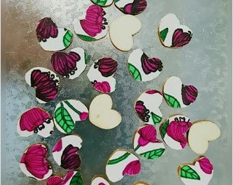 25 Pc-Heart Thickets