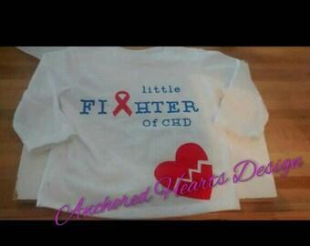 Little fighter of CHD shirt