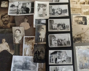 Old Photographs from the late 1800's to 1960's