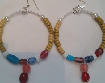 Caribbean Dangle Hoops