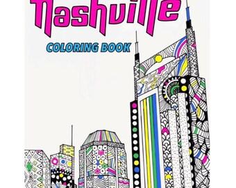 Nashville Coloring Book