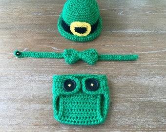 Newborn Bowler Hat Set