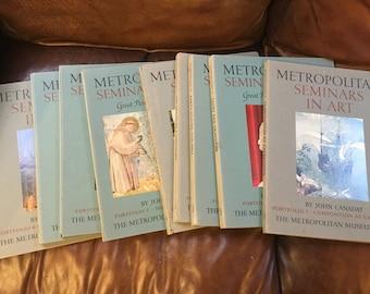 Metropolitan 11 Book Set 1950s, Great Collectible