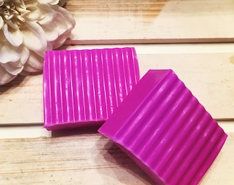 Shea Butter Flowerbomb Soap Slice
