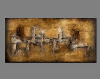 """Crossroads - 24"""" x 48"""" Gallery wrapped Original painting by Christa Winters"""